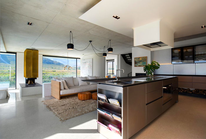 Approaches to Enhance a Kitchen and Living Room Combined